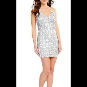 🌺♥️Lucy Paris Silver Sequined Dress♥️🌺